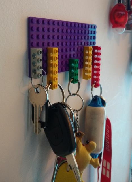 Technical Lego Key Rack